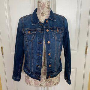Ann Taylor Loft Classic Jeans Jacket